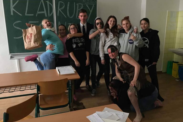 Projekt Hrdá škola na naší škole!