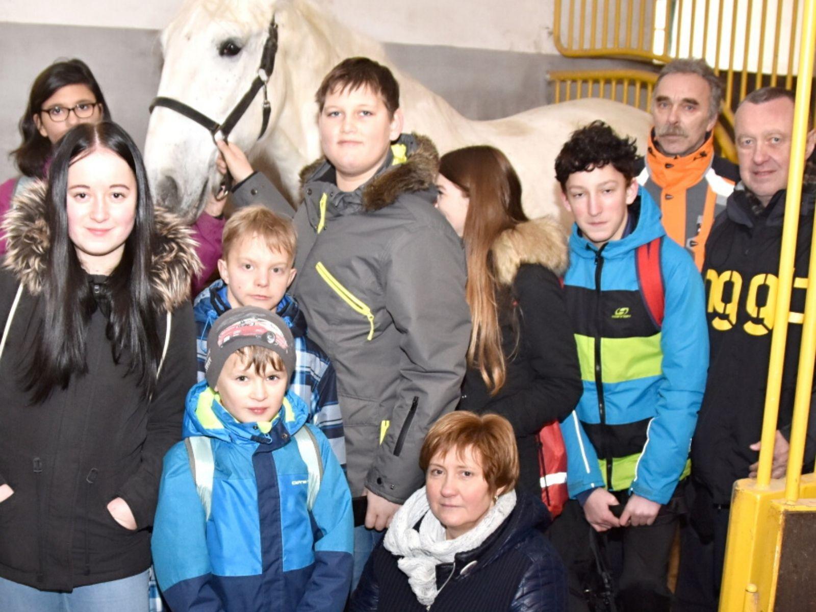 Návštěva z dětského domova Dolní Čermná